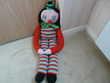 Clown - peluche de 1m10 Jeux / jouets