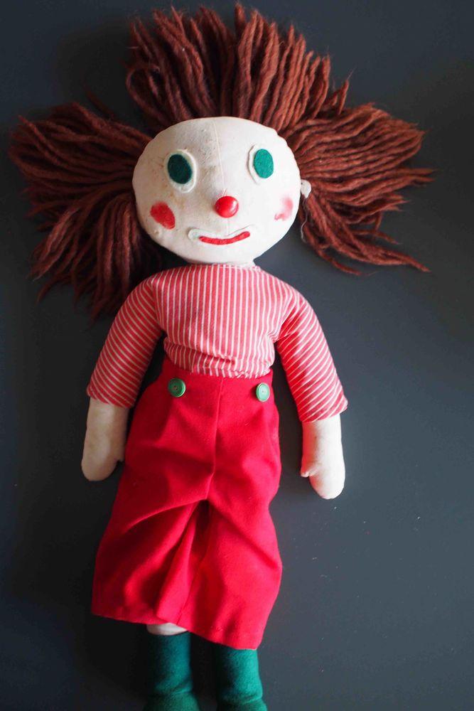 Clown poupée artisanale 10 Rennes (35)
