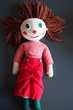 Clown poupée artisanale