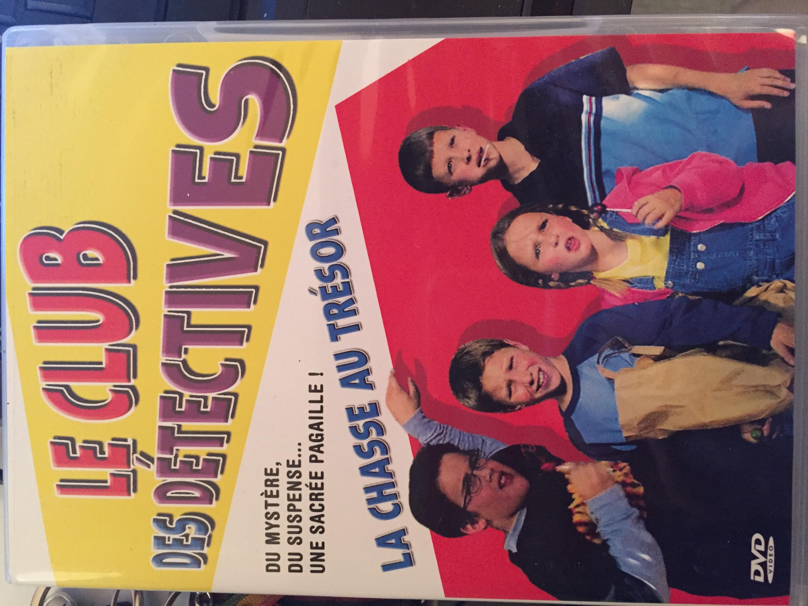 DVD Le Club des détectives DVD et blu-ray
