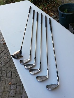 clubs de golf pour dame, droitière 100 Hermanville-sur-Mer (14)