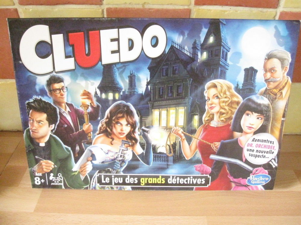 Cluedo jeu hasbro 12 Saint-Jean-Pla-de-Corts (66)
