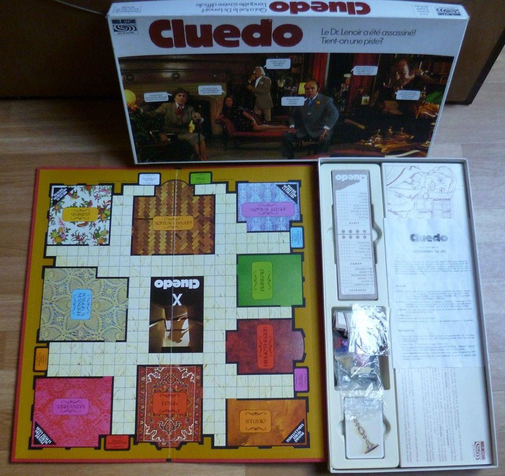 Cluedo - Jeu de société vintage 15 Vieux-Condé (59)