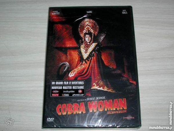 DVD COBRA WOMAN - FANTASTIQUE R. SIODMAK 19 Nantes (44)