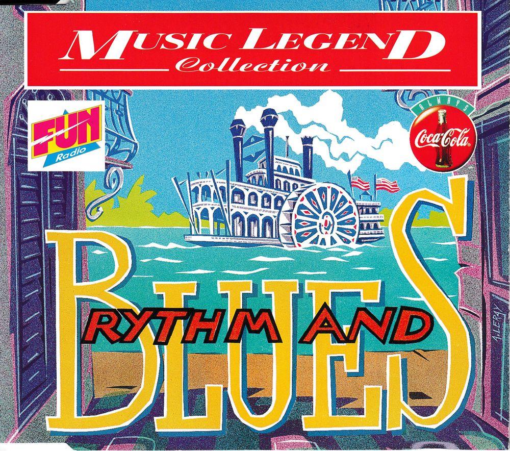 CD Coca-Cola Rythm & Blues Music Legend - Objet Publicitaire 6 Antony (92)