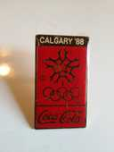 pin's cocacola des jeux olympiques de CALGARY 1988 TBE 1 Ruca (22)