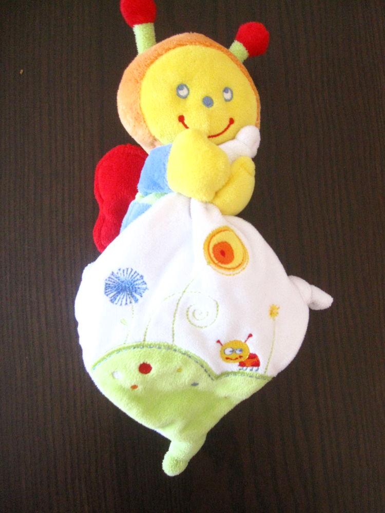 Coccinelle papillon pommette 25cm Jeux / jouets