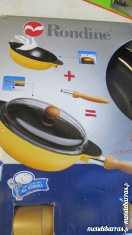COCOTTE/POELLE avec couvercle et poignée NEUF/EMB Cuisine