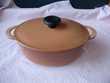 Cocottes Ovales à couvercle en fonte-neuves Cuisine