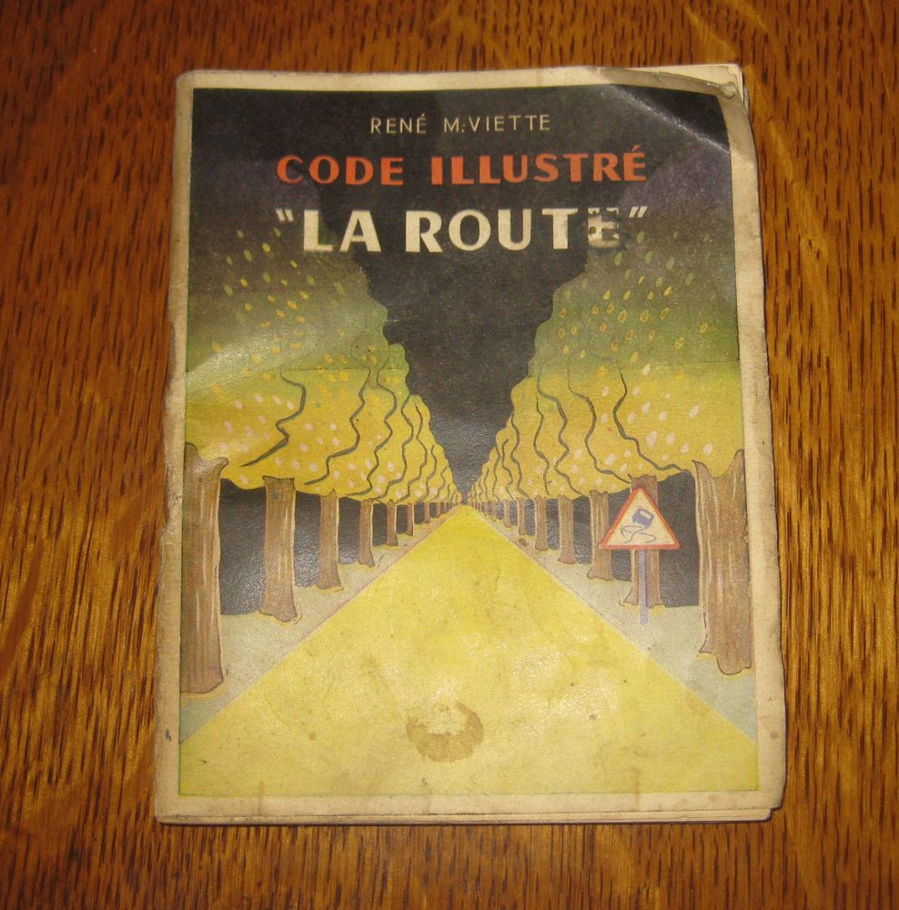 Code de la route VIETTE 1955