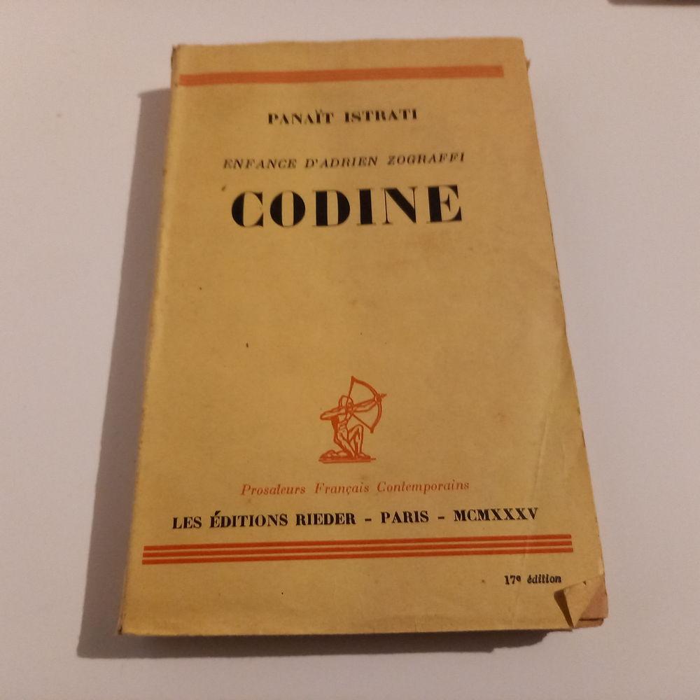Codine, par Panait Istrati , enfance d' Adrien Zograffi      4 Saumur (49)