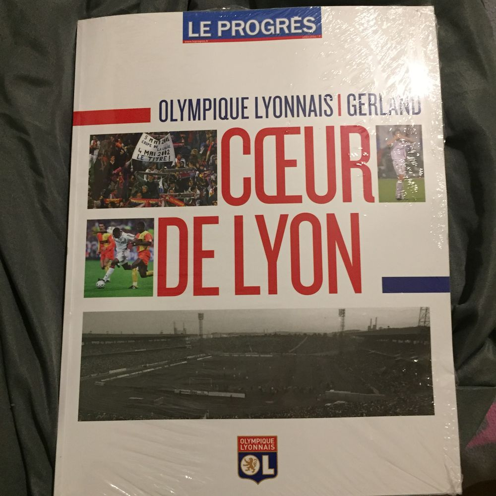 """LE COEUR DE LYON """"GERLAND & le club de l' O.L."""" Livres et BD"""