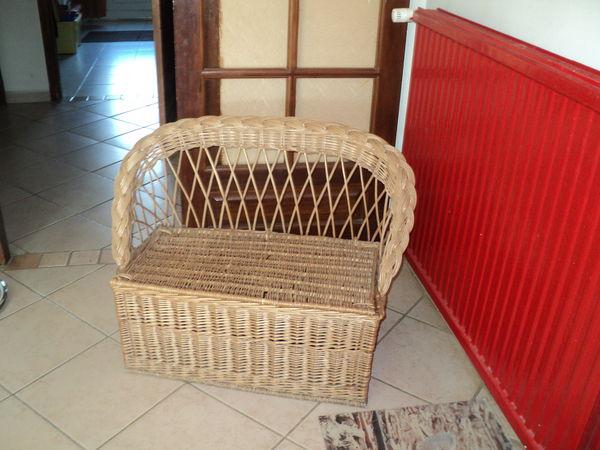 beautiful coffre banquette osier pour enfant mobilier enfants with coffre banc enfant. Black Bedroom Furniture Sets. Home Design Ideas