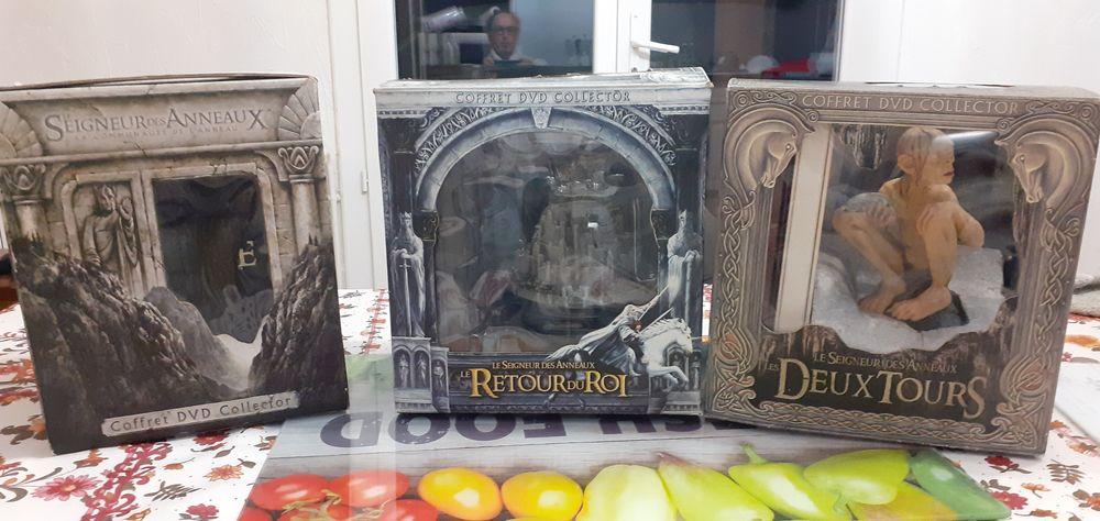 3 coffré DVD collector le seigneur des anneaux  385 Beaucaire (30)