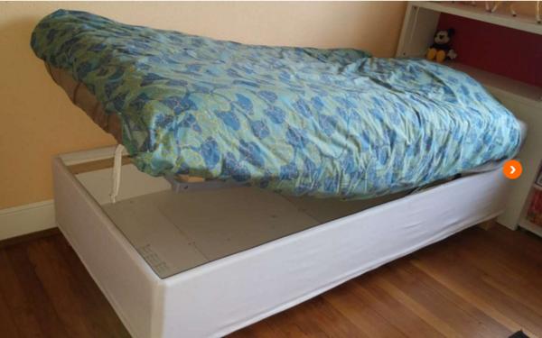 achetez lit coffre ikea occasion annonce vente tavaux. Black Bedroom Furniture Sets. Home Design Ideas