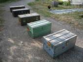 Coffre/Malle bois/munition 45 Castres (81)