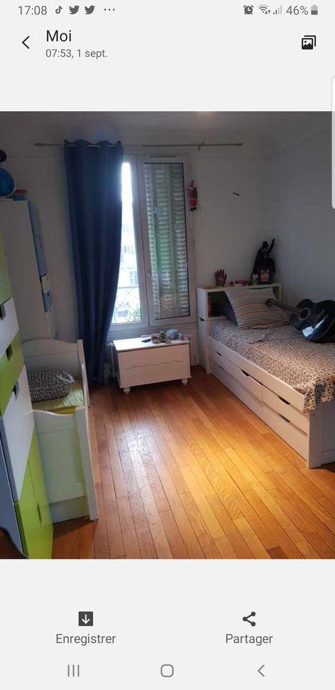 Lit coffre ,tiroirs 100 Paris 15 (75)