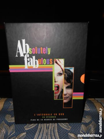 Coffret dvd  absolutely fabulos 4dvd 20 Les Clayes-sous-Bois (78)