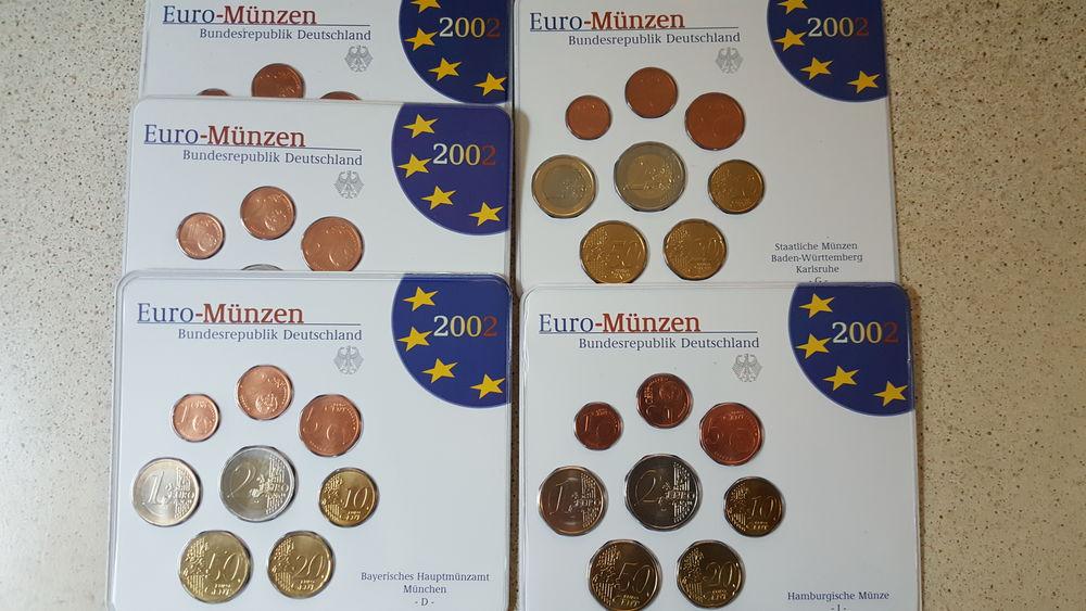 coffret BU Allemagne  2002     ''  5 lettres '' 30 Sansan (32)
