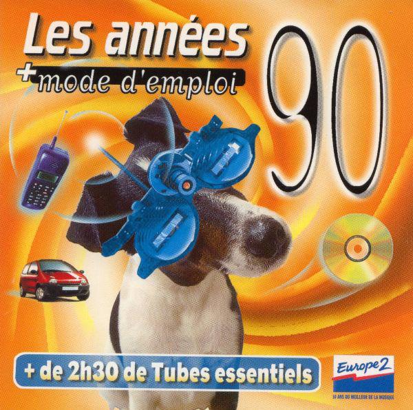 coffret 2 cd Les Années 90 + Mode D'Emploi (etat neuf) 6 Martigues (13)