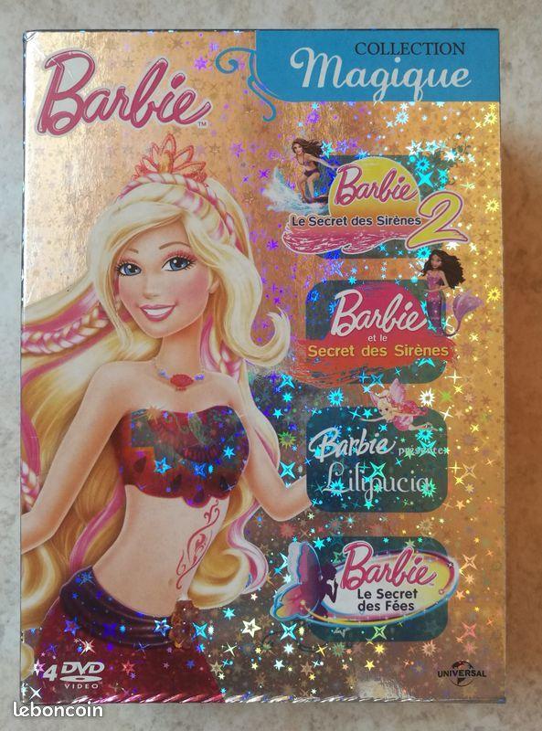 Coffret BARBIE 4 DVD Collection Magique 40 Olivet (45)