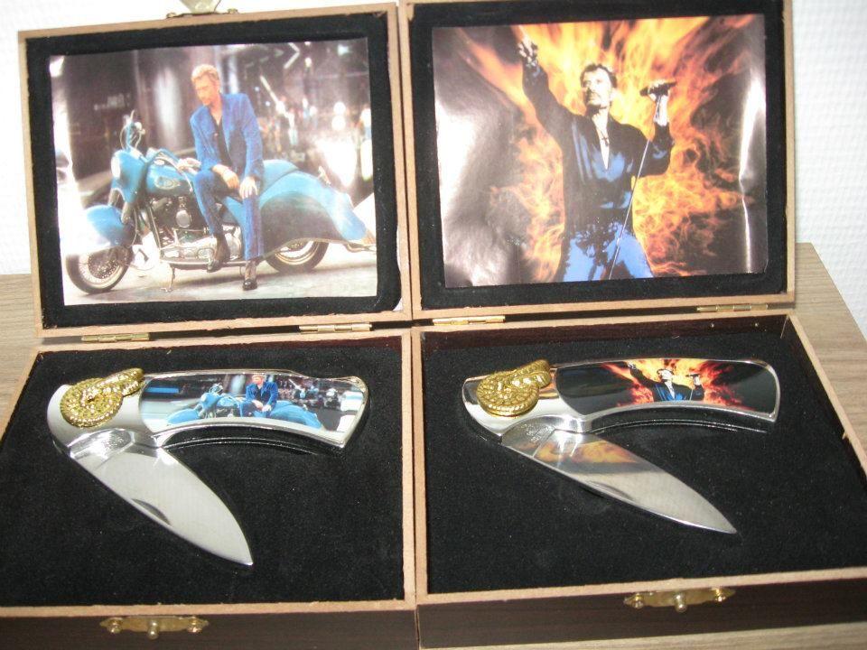 Coffret en bois contenant un couteau 30 Rambouillet (78)