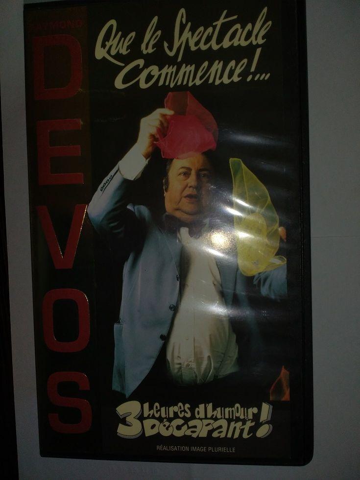 COFFRET 2 CASSETTES VHS Raymond DEVOS 5 Marcq-en-Barœul (59)