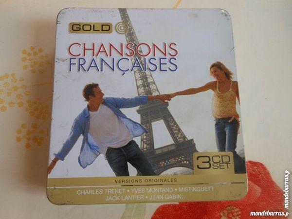 coffret 3 CD chansons françaises    pa35 9 Grézieu-la-Varenne (69)
