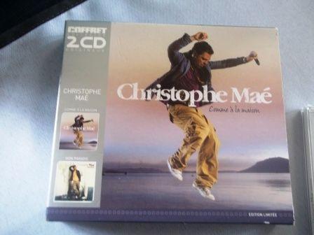 COFFRET CD Christophe Maé 10 Umpeau (28)