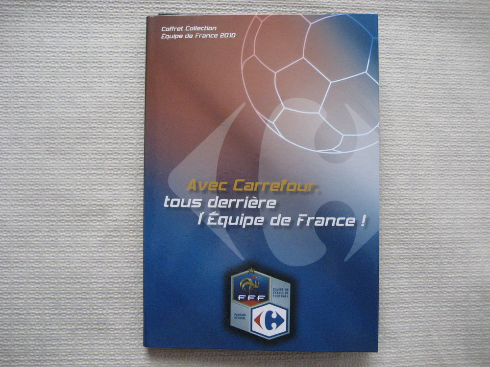 Coffret Collection 23 MAGNETS Equipe France Football 2010. 14 Reims (51)