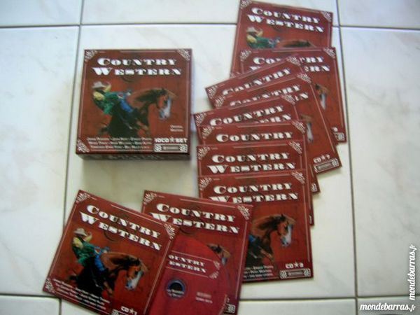 COFFRET CD COUNTRY WESTERN - 10 CD 38 Nantes (44)
