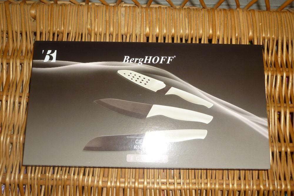 Coffret 3 couteaux céramique Berghoff modèle Eclipse NEUF 18 Agen (47)