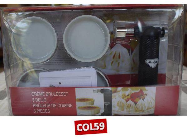 Coffret CREMES BRULEES + BRULEUR DE CUISINE neuf 15 Mons-en-Barœul (59)