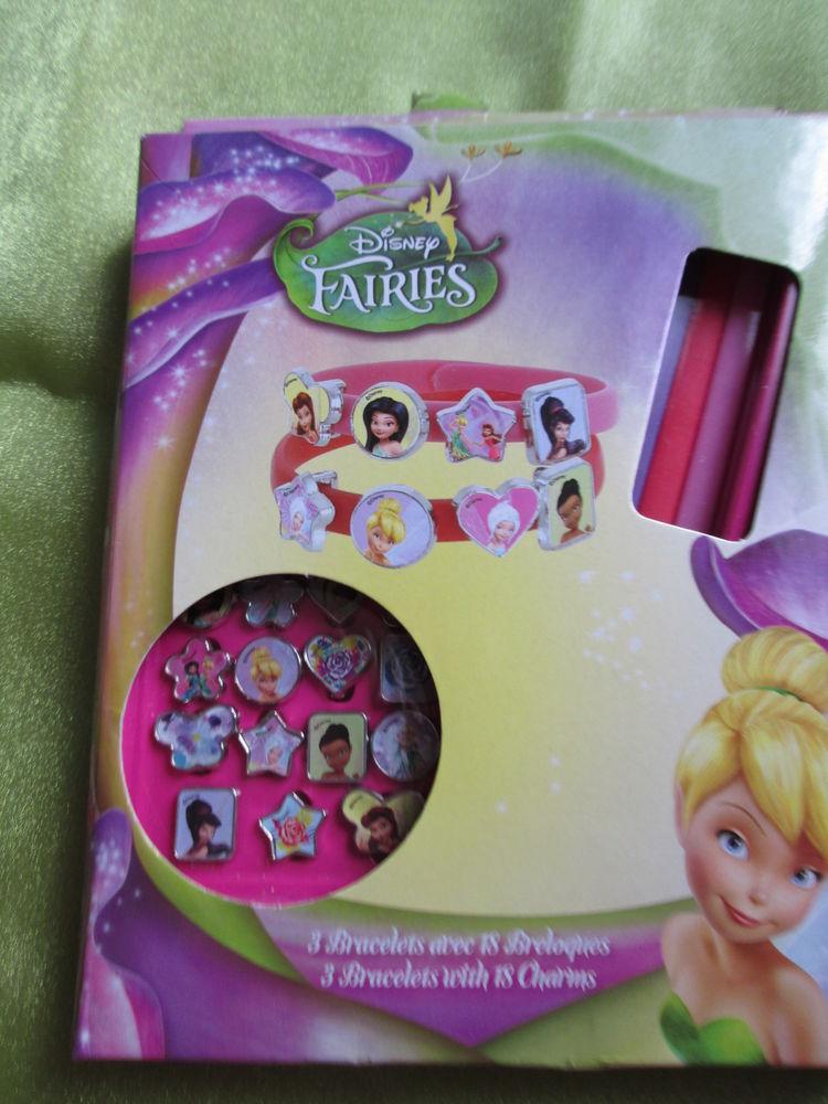 Coffret Disney Fairies 3 bracelets Jeux / jouets