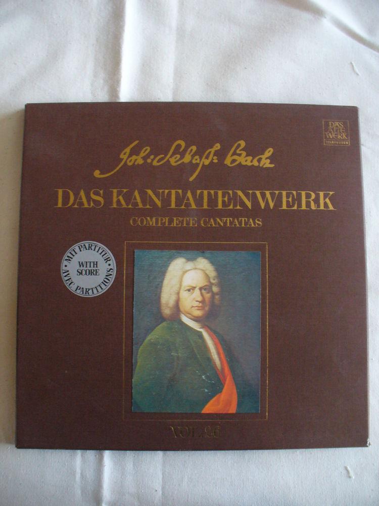 Coffret 2 disques JEAN SEBASTIEN BACH  20 Rosendael (59)