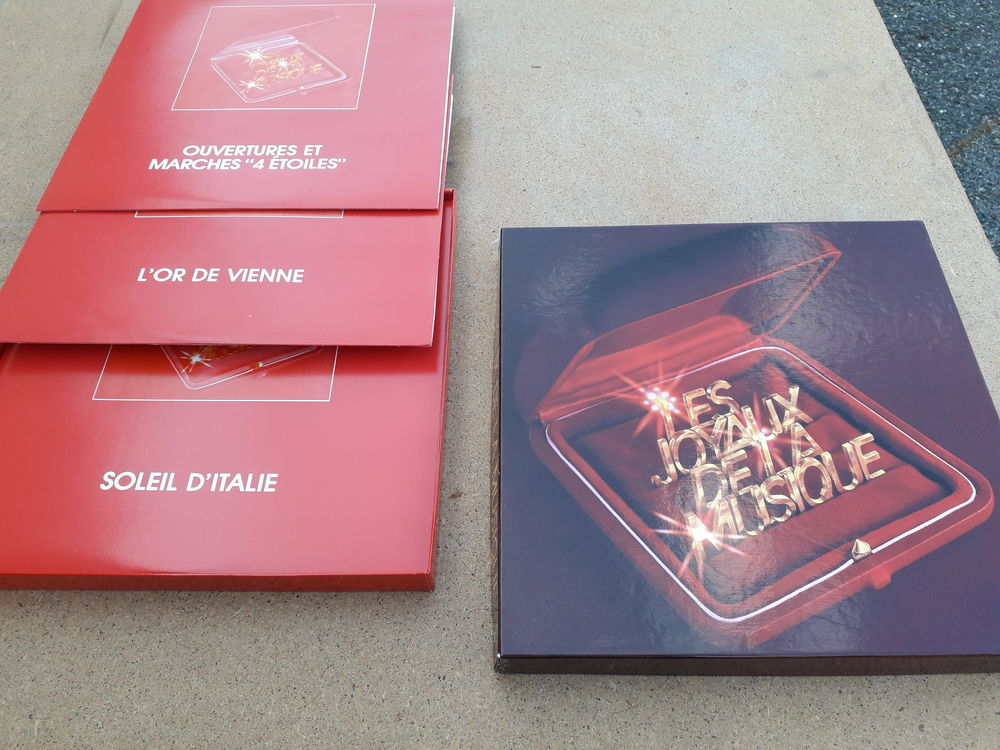 Coffret de disques vynil  2 Gaillard (74)