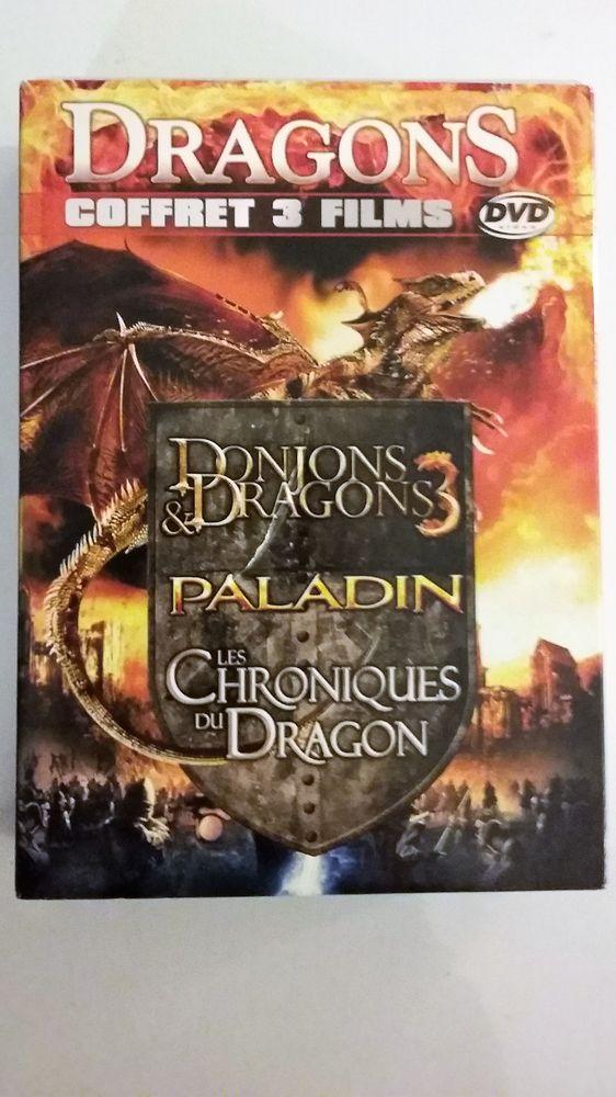 Coffret 3 DVD Dragons - Fantastique 1 Bougival (78)