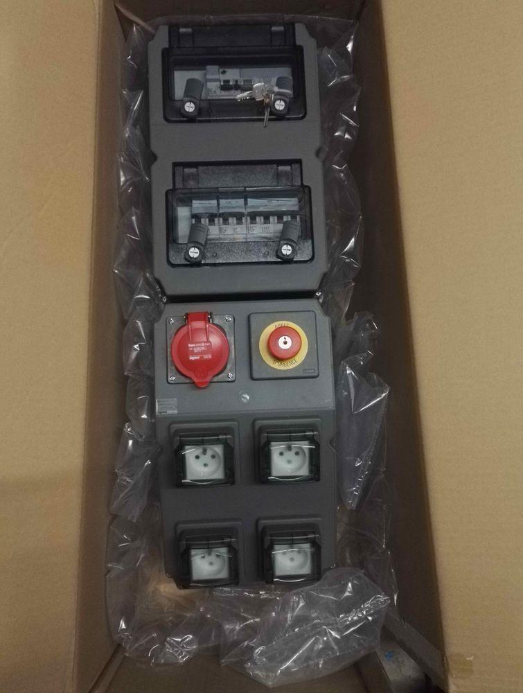 coffret électrique Hypra équipé IP44 Legrand 500 Férolles-Attilly (77)