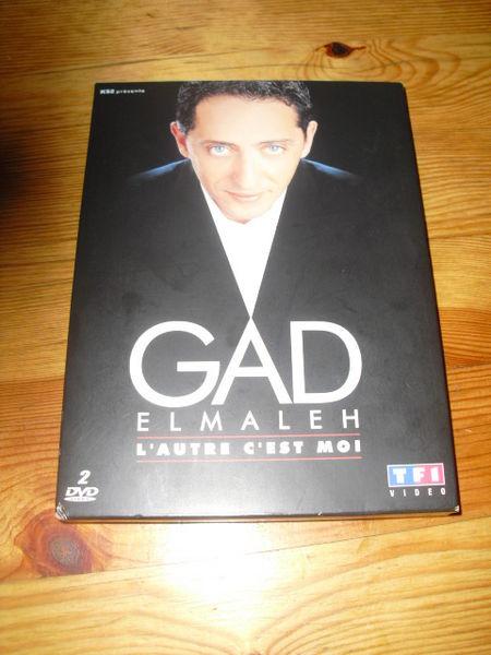 coffret de 2 DVD GAD ELMALEH l'autre c'est moi +BONUS 3 Lyon 5 (69)