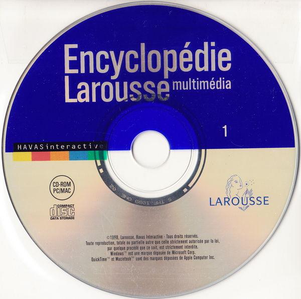 COFFRET 2CD PC+MAC Encyclopédie Larousse multimédia Matériel informatique