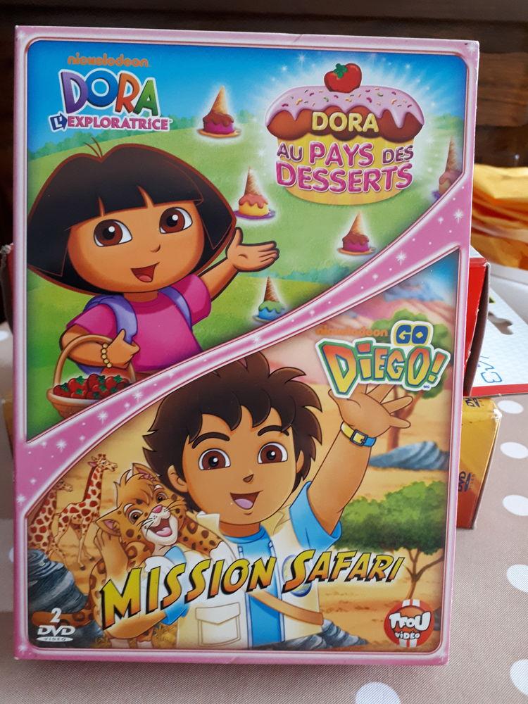 Coffret 2 DVD enfants DORA et DIEGO neufs - 5 euros 5 Villemomble (93)