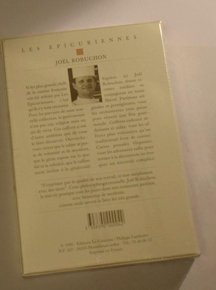 Coffret - Les Epicuriennes - Joel Robuchon - 1993 25 Roissy-en-Brie (77)