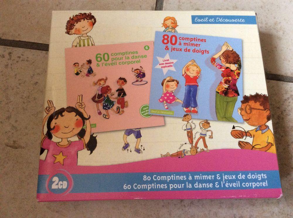 coffret 2 CD éveil et découvertes enfants 5 Decize (58)