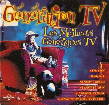 coffret 2 cd Génération TV (état neuf) 10 Martigues (13)