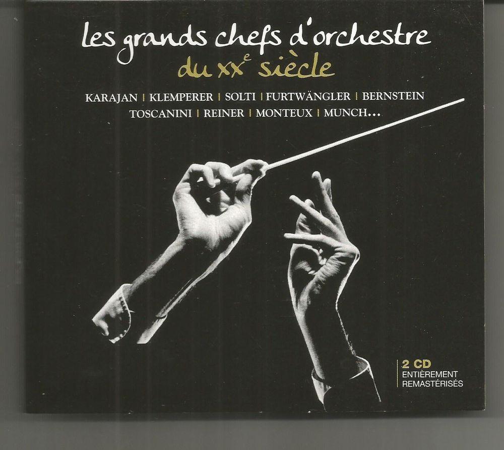 Coffret 2 CD Les grands chefs d'orchestre du XXe siècle 10 Montauban (82)