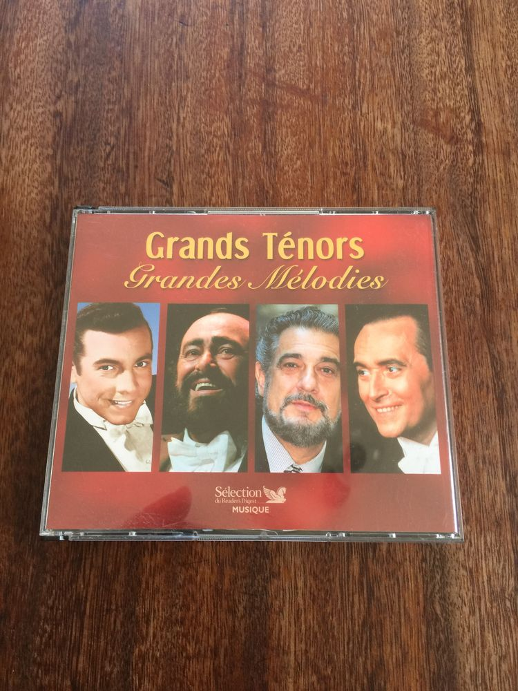 Coffret 5 CD Grands ténors   Grandes Mélodies   4 Saleilles (66)