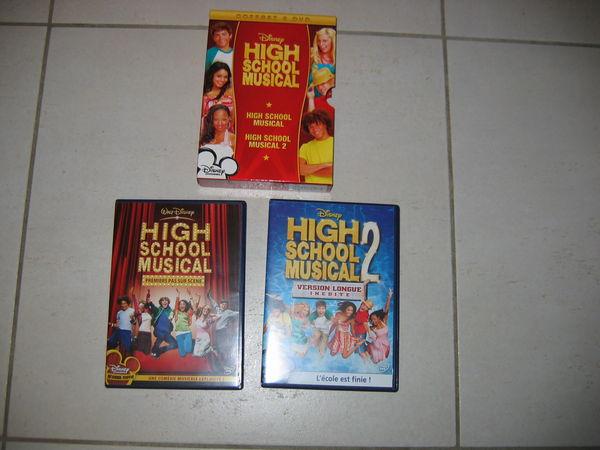 Coffret 2 DVD  High School Musical  12 Le Vernois (39)