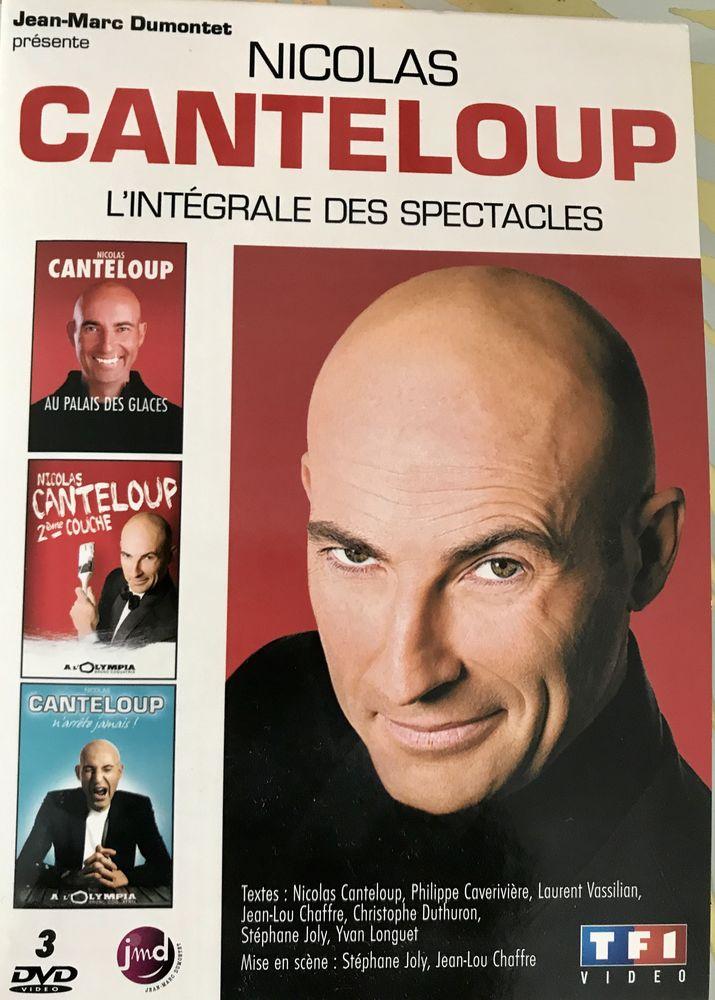 coffret 3 DVD    l'intégrale des spectacles   de Nicolas canteloup 20 Montauban (82)