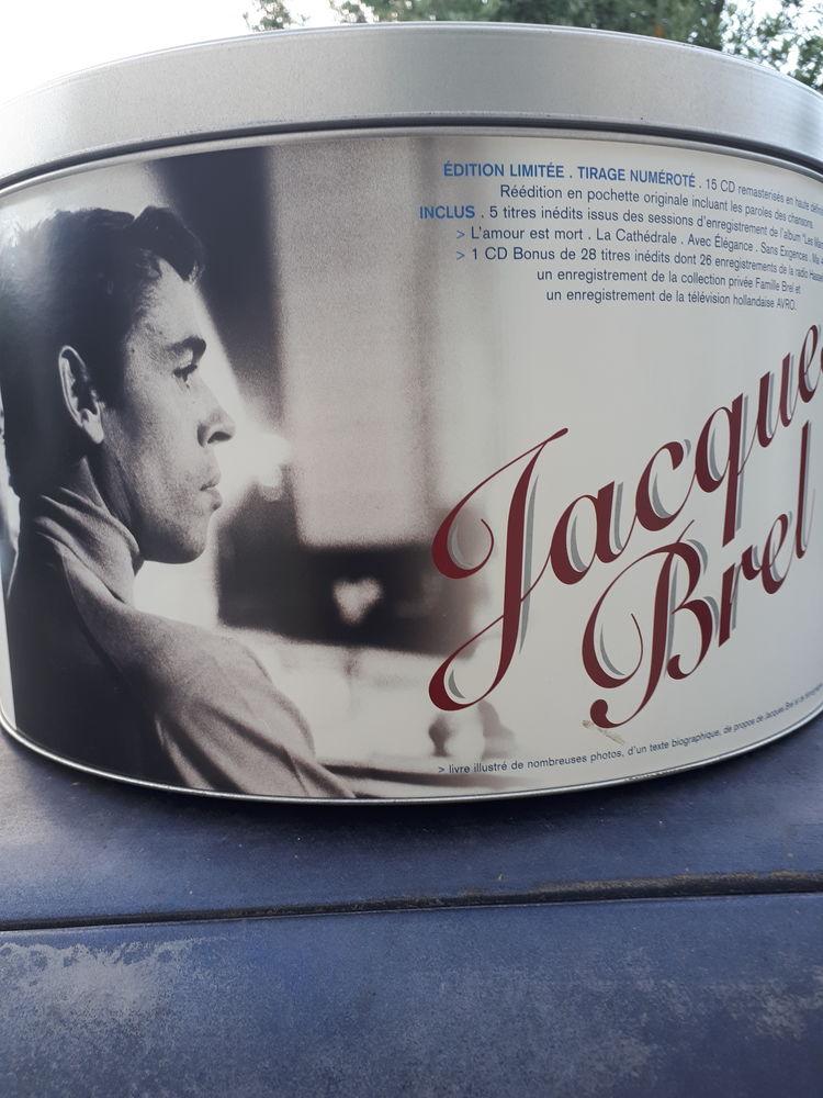 Coffret Jacques Brel  0 La Farlède (83)