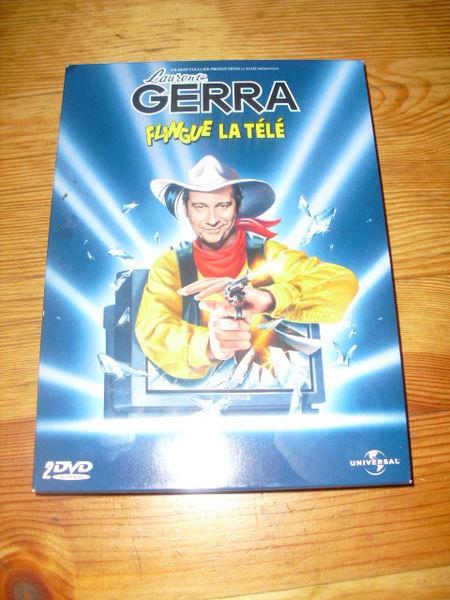 coffret de 2 DVD LAURENT GERRA flingue la télé+BONUS 3 Lyon 5 (69)